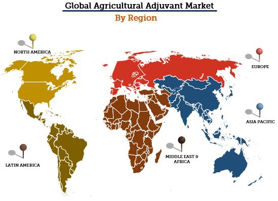 Agricultural Adjuvant Market By Region