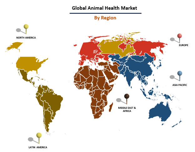 Animal Health Market By Region