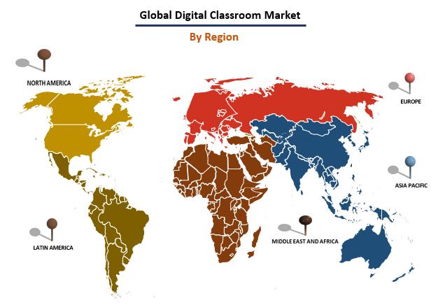 Digital Classroom Market By Region