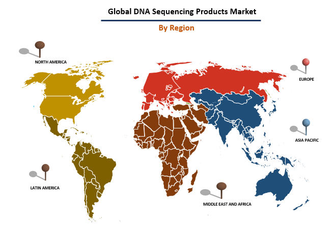 DNA Sequencing Product Market By Region
