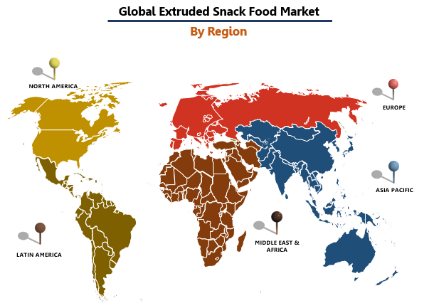 Extruded Snack Food Market by Region