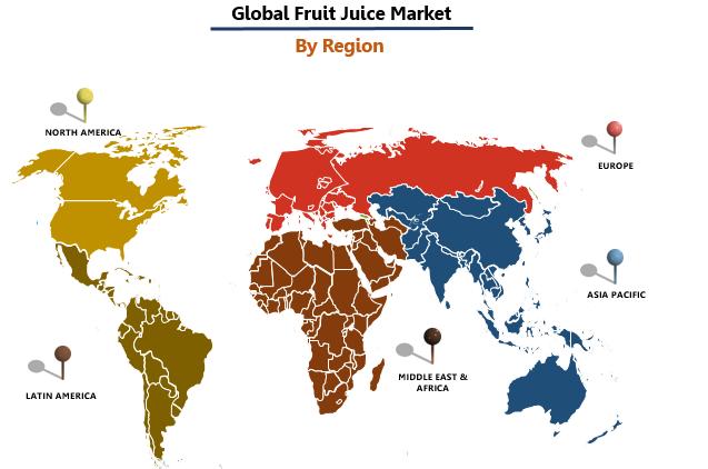 Fruit Juice Market by Region