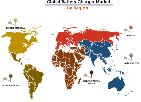 Global Battery Charger Market By Region