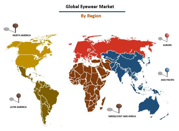Global Eyewear Market By Region