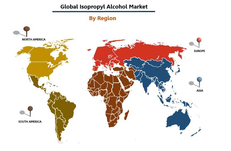 Isopropyl Alcohol Market By Region