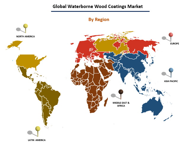 Global Waterborne Wood Coatings Market by Region