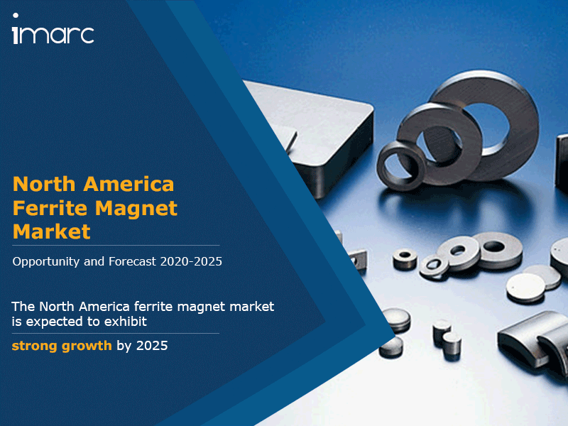 North America Ferrite Magnet Market