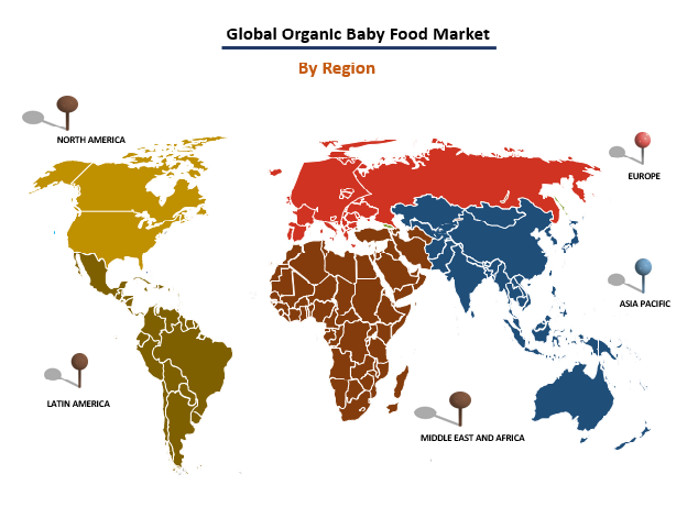 Organic Baby Food Market By Region