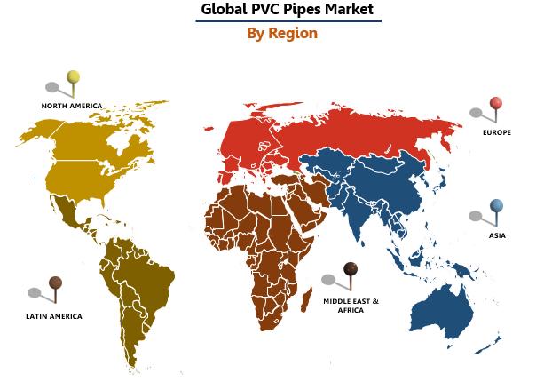 PVC Pipes Market by Region