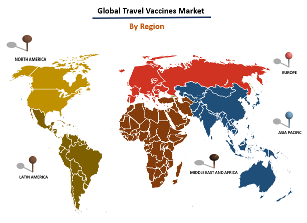 Global Travel Vaccines Market by Region
